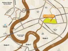 Cho thuê căn hộ Krisvue, Q2, DT 71.5 m2, giá 9.5tr/th, nhà trống, view sông. LH Nhung 0938658818