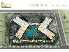 Penthouse Masteri An Phú Q2, view Q1, sông Sài Gòn, 396m2 có sân vườn, giá 18 tỷ. PKD 0906.626.505
