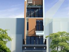 Cho thuê nhà nguyên căn thô khu dân cư Văn Minh, đối diện Novaland, 6x18m, 1H, 4L, giá 45 tr/th