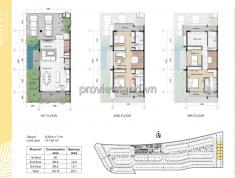 Bán biệt thự Palm Residence, nằm ngay mặt tiền đường Song Hành, 3 lầu, 144m2, 4pn