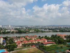 Cho thuê Tropic Garden 3pn, view sông, căn góc full nội thất