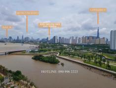 Bán căn hộ 3 phòng ngủ, 119m2, tháp Hawaii, view sông SG, quận 1, full bếp, giá bán 7 tỷ (VAT+PBT)