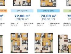 Căn hộ cao cấp Tropic Garden bán diện tích 65m2, 2PN, full nội thất giá 3.12 tỷ