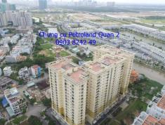 Cần bán 6 căn hộ Petroland, Quận 2. 81m2, 2PN, 2WC, sổ hồng, giá từ 1,65 tỷ, LH 0903 82 4249 Vân