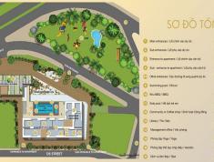Bán căn hộ officetel 2pn tầng cao, view hồ bơi dự án centana thủ thiêm giá 2,44 tỷ có VAT thuận tiện đi lại