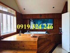 Cho thuê villa Thảo Điền, 4PN, đủ nội thất có hầm rượu vang, phòng xông hơi. Giá 46.2 triệu/th