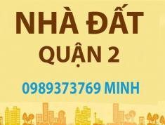 Cần bán nguyên căn biệt thự đẹp nằm trên đường Lương Định Của, phường Bình An, Quận 2.