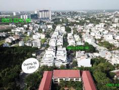 Cho thuê nhà phố KDC Đông Thủ Thiêm Quận 2, 108m2, trệt, 2 lầu, sân thượng, 18 tr/th. LH 0903824249