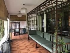 Biệt thự Thảo Điền 50x20m kiến trúc nhà Rường Huế, 5PN nội thất đầy đủ