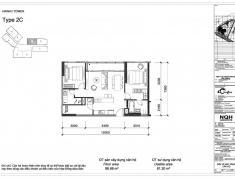 Bán căn hộ 2 phòng ngủ Đảo Kim Cương Quận 2, tháp Hawaii, căn số 7, loại 2C, giá bán 4.9 tỷ