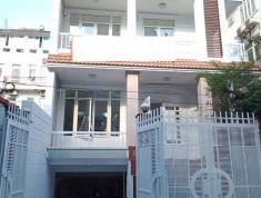 Cho thuê villa phố đường số Trần Não diện tích 10x20, hầm trệt 3 lầu sân thượng, giá 55tr/tháng