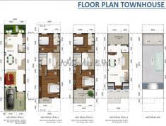 Bán biệt thự Lakeview City quận 2 5x20m, 1 trệt, 3 lầu 4 phòng ngủ, chính chủ