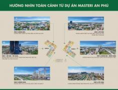 Chính chủ gửi bán gấp căn hộ 2PN, Masteri An Phú, 73m2, tầng 12, view sông, giá 3,08 tỷ