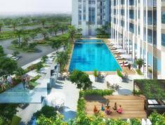 Bán căn hộ tầng 8 Centana Thủ Thiêm, 61m2, căn góc, hướng ĐN, view hồ bơi, giá 2,320 tỷ có VAT