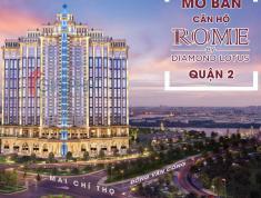 Bán CH Rome kiến trúc Châu Âu, chuẩn xanh trong lòng thành phố cực đẹp và mát. LH 0902516251