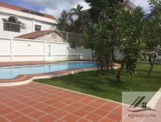 Cho thuê villa Thảo Điền 1000m2, 7PN, sân vườn, hồ bơi giá 140tr/th, để ở, làm văn phòng