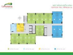 Bán 02 căn officetel La Astoria 3, Q2, giá 1,12 tỷ/căn, DT 35m2, T12/2018 nhận nhà. 0932.17.44.82