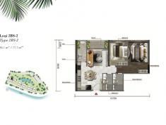 Bán căn Palm Garden, Q. 2, 2 phòng ngủ, 86m2, giá 5 tỷ (VAT)