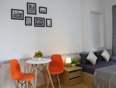 Cho thuê căn hộ mini mới xây full nội thất, 38m2, có thang máy, cạnh CC Bộ Công An, Q2, 6 tr/th