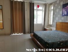 Cho thuê căn hộ dịch vụ phù hợp ở diện tích 60m2, giá 42 triệu/tháng