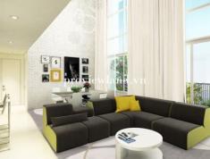 Căn hộ Vista Verde, 2PN, 82.4m2, tháp T1, view sông và hồ bơi, đầy đủ nội thất, giá bán 4 tỷ