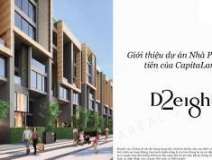 Nhà phố shophouse D2Eight Capitaland, DT 315m2, 8 tầng, có thang máy, mặt tiền đường lớn, 23 tỷ