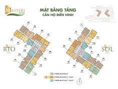 Bán căn 1PN Masteri An Phú, A2x.01 – 52m2, giá 2.75 tỷ. LH 0332040992