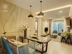 Cần bán căn Feliz En Vista 2PN, 85m2, giao thô, giá 3.6 tỷ, view nội khu. LH 0909182993