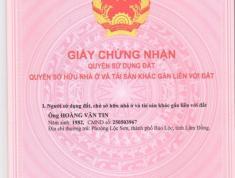 Cần bán đất tại Lam Sơn, Bảo Lộc - 2 mặt tiền