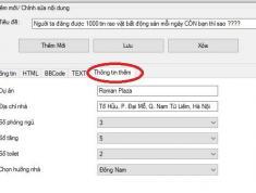 Các tính năng Phần mềm Đăng tin Bất Động Sản - VBDSP 150k/tháng đăng tin trên 150 website