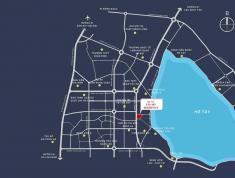 Chỉ với 2,8 tỷ mua căn hộ 2PN, full nội thất, cách Hồ Tây 300m, ngay mặt đường Võ Chí Công