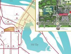 CH Tây Hồ Residence mặt đường Võ Chí Công 3,2 tỷ/căn góc 94.7m2, CK 70tr tặng bông hồng vàng. LS 0%