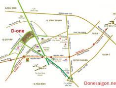 Bán căn Studio D-One, MT Phan Văn Trị, P. 7, Q. Gò Vấp, giá 1.7 tỷ. LH: 0903703952 (zalo, viber)