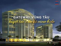 Bán gấp căn hộ Gateway Vũng Tàu, giá 1.9 tỷ, view hồ Phụng Hoàng, 2pn, 2wc