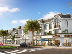 Chi tiết mẫu shopvilla diện tích 108m2 dự án Crown Villas Thái Nguyên