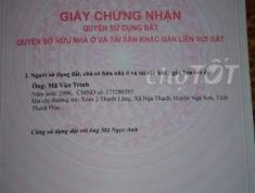 Chính chủ cần bán đất Đường Cách Mạng Tháng Tám, Thị trấn Long Điền, Huyện Long Điền, Bà Rịa –