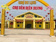 Đất 2 mặt tiền chợ du lịch Điện Dương giá rẻ