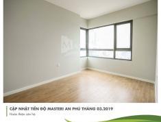 Bán căn 1PN Masteri An Phú, A2x.01 - 52m2, giá 2.75 tỷ. LH 03332040992