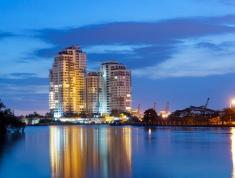 Cho thuê căn hộ chung cư Thủ Thiêm Xanh, Nguyễn Duy Trinh,Quận 2. 60m, 2 phòng, 7 triệu