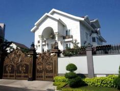 Cho thuê nhà mặt tiền đường Nguyễn Qúy Cảnh, khu an phú an khánh, Q2. Hầm, 3 lầu, 10mx17m,  bao VAT