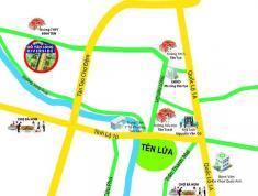 Bán gấp mặt tiền 20m đối diện THPT Bình Tân, shr, hạ tầng xong, dt 4x15m giá 2 tỷ 800