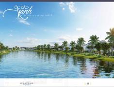 Bán căn biệt thự đơn lập mặt Biển Hồ nước mặn Hải Âu 1 dự án Vinhomes Ocean Park Gia Lâm