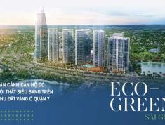Căn hộ mặt tiền đại lộ Nguyễn Văn Linh Quận 7 toa M2 view đẹp nhất dự án Eco Green Sài Gòn