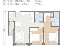Bán căn hộ 2PN- 70m2 Masteri An Phú, căn A08 view hồ bơi, giá 3.6 tỷ. LH 0906626505