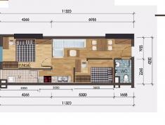 Bán căn hộ diện tích 48m - 1pn giá rẻ khu đô thị thanh hà mường thanh