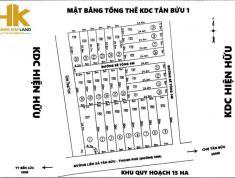 Bán đất nền kdc Tân Bửu,gần ngay chợ đệm,cao tốc,shr,xdtd,11,4tr/m2. lh:0769600007