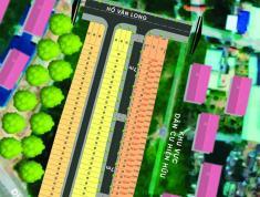 3 lô liền kề tân tạo, bình tân, MT đường 20m, dt 4x15m, 2tỷ800 (bán gấp!)