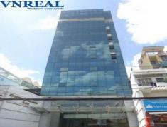 Bán Tòa nhà Vp mặt tiền cmt8, quận 3, dt 12.7x23, giá 110ty(tl), đang cho thuê 444tr/tháng