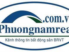 Bán nhanh  lô đất mặt tiền đường Võ Văn Kiệt nối dài TP Bà Rịa