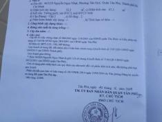 Gia đình về quê , bán nhà 43/22/9 Nguyễn Ngọc Nhựt,Tân Phú.Hẻm 3 m , khu dân cư sầm uất, Giá 4 tỷ.